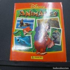 Coleccionismo Álbum: ALBUM ANIMALES DE PANINI COMPLETO. Lote 176328245
