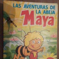 Coleccionismo Álbum: LAS AVENTURAS DE LA ABEJA MAYA DANONE. Lote 176390969
