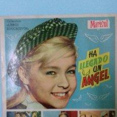 Coleccionismo Álbum: ALBUM CROMOS MARISOL HA LLEGADO UN ÁNGEL. COLECCIÓN LIBROS EDUCATIVOS. EDITORIAL FHER. 1961. Lote 176391823