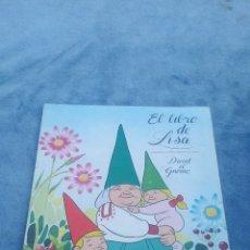 Coleccionismo Álbum: EL LIBRO DE LISA - ALBUM DE CROMOS COMPLETO - DANONE 1985. Lote 176412524