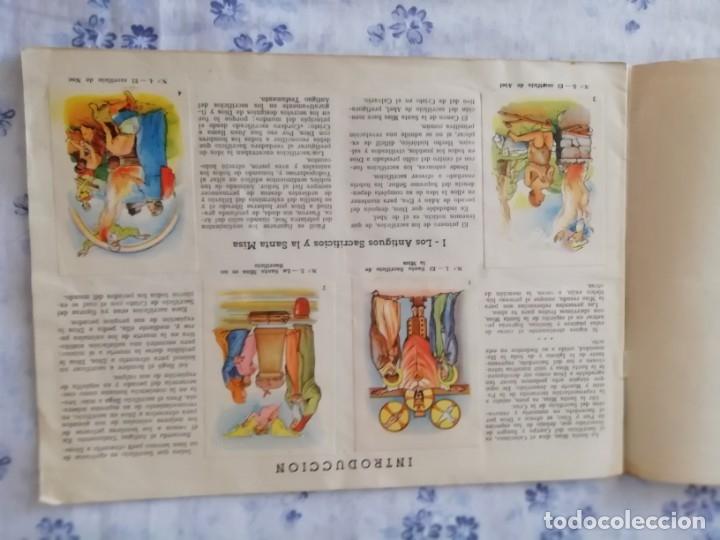 Coleccionismo Álbum: ALBUM CROMOS COMPLETO LA SANTA MISA EXPLICADA A LOS NIÑOS - Foto 3 - 176781174