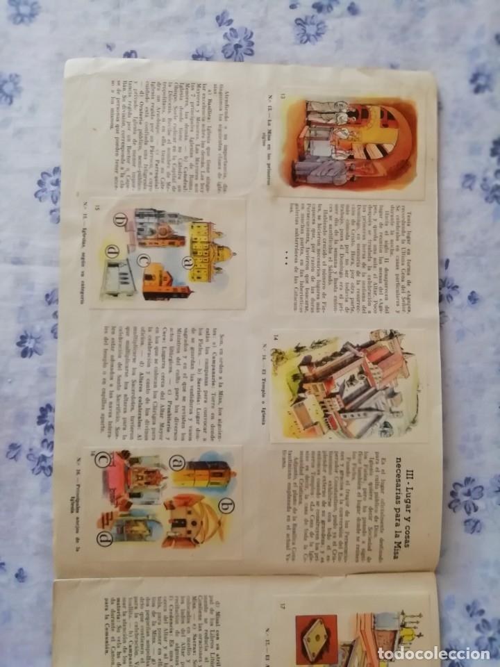 Coleccionismo Álbum: ALBUM CROMOS COMPLETO LA SANTA MISA EXPLICADA A LOS NIÑOS - Foto 6 - 176781174