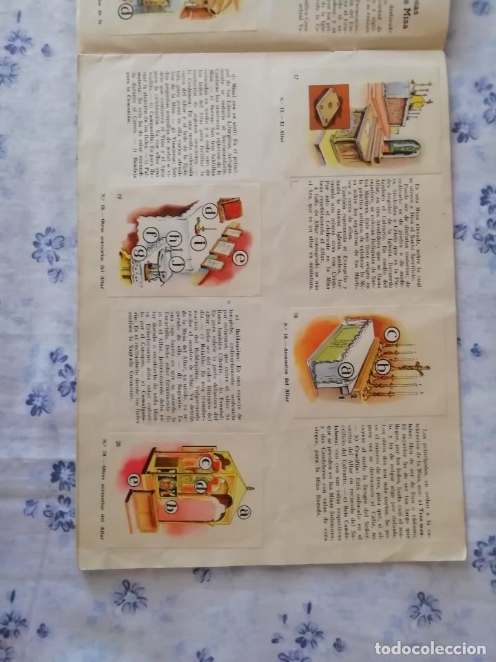 Coleccionismo Álbum: ALBUM CROMOS COMPLETO LA SANTA MISA EXPLICADA A LOS NIÑOS - Foto 7 - 176781174