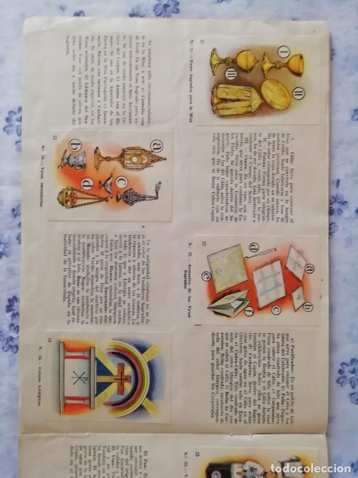 Coleccionismo Álbum: ALBUM CROMOS COMPLETO LA SANTA MISA EXPLICADA A LOS NIÑOS - Foto 8 - 176781174