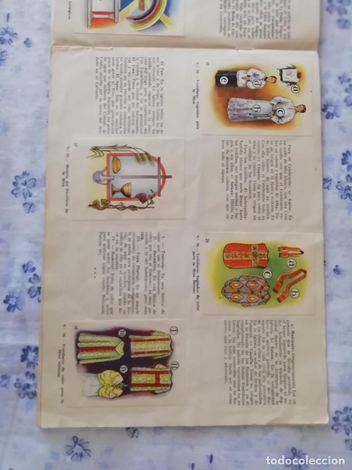 Coleccionismo Álbum: ALBUM CROMOS COMPLETO LA SANTA MISA EXPLICADA A LOS NIÑOS - Foto 9 - 176781174