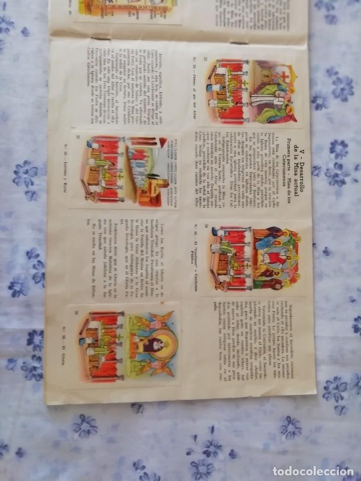 Coleccionismo Álbum: ALBUM CROMOS COMPLETO LA SANTA MISA EXPLICADA A LOS NIÑOS - Foto 11 - 176781174