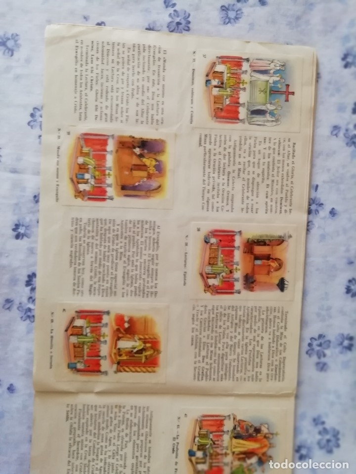 Coleccionismo Álbum: ALBUM CROMOS COMPLETO LA SANTA MISA EXPLICADA A LOS NIÑOS - Foto 12 - 176781174