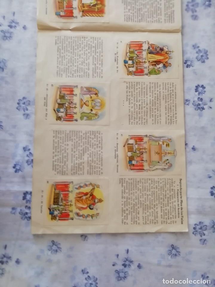 Coleccionismo Álbum: ALBUM CROMOS COMPLETO LA SANTA MISA EXPLICADA A LOS NIÑOS - Foto 13 - 176781174