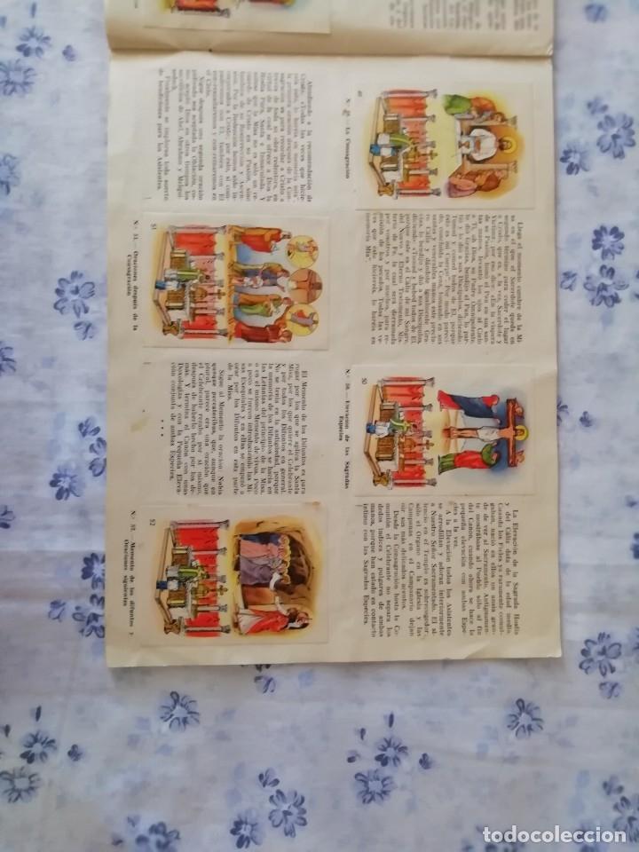 Coleccionismo Álbum: ALBUM CROMOS COMPLETO LA SANTA MISA EXPLICADA A LOS NIÑOS - Foto 15 - 176781174