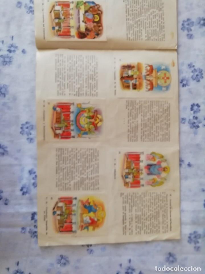 Coleccionismo Álbum: ALBUM CROMOS COMPLETO LA SANTA MISA EXPLICADA A LOS NIÑOS - Foto 17 - 176781174
