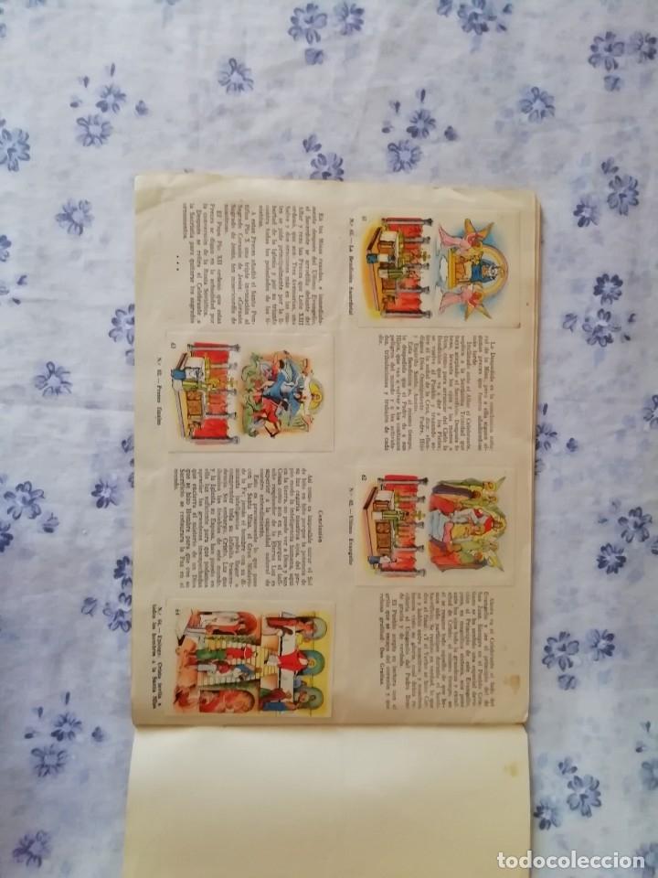 Coleccionismo Álbum: ALBUM CROMOS COMPLETO LA SANTA MISA EXPLICADA A LOS NIÑOS - Foto 18 - 176781174