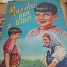 Coleccionismo Álbum: ALBUM MARCELINO PAN Y VINO COMPLETO DE 240 CROMOS . Lote 176970289