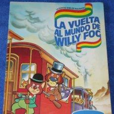 Coleccionismo Álbum: LA VUELTA AL MUNDO DE WILLY FOG - DANONE ¡COMPLETO!. Lote 177018767