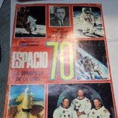 Coleccionismo Álbum: ALBUM COMPLETO ESPACIO 70 LA CONQUISTA DE LA LUNA 1969 EDICIONES ESTE. Lote 177043018