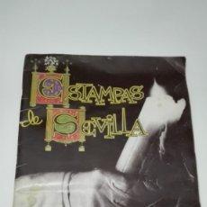 Coleccionismo Álbum: SEMANA SANTA DE SEVILLA: ESTAMPAS DE SEVILLA. ALBUM DE CROMOS DE 1995. . Lote 177084545