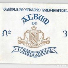 Coleccionismo Álbum: TORRELAVEGA ALBUM TERCERO ASILO HOPITAL AGOSTO 1958. Lote 177181172