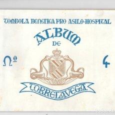 Coleccionismo Álbum: TORRELAVEGA ALBUM CUARTO DEL ASILO HOSPITAL AGOSTO 1959. Lote 177182118