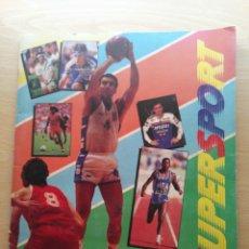 Coleccionismo Álbum: ALBUM SUPERSPORT - COMPLETO -VARIOS DEPORTES - PANINI AÑO 1988 . Lote 177194942