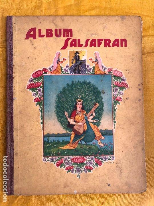ALBUM SALSAFRAN COMPLETO (Coleccionismo - Cromos y Álbumes - Álbumes Completos)