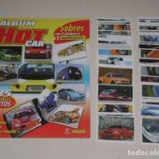 Coleccionismo Álbum: ALBUM HOT CAR 2008 - EDITORIAL PANINI - 100% COMPLETO. Lote 177210844