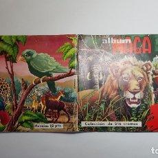 Coleccionismo Álbum: MAGA - AFRICA Y SUS HABITANTES - ÁLBUM COMPLETO - BUEN ESTADO DE CONSERVACION. Lote 177499549