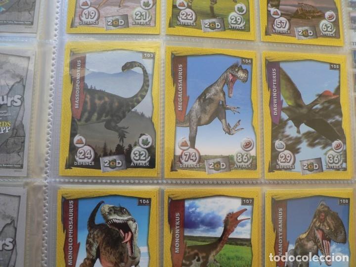 Coleccionismo Álbum: Dinosaurs 3D Colección Completa - Foto 2 - 177558868
