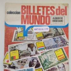 Coleccionismo Álbum: ALBUM CROMOS BILLETES DEL MUNDO-EDICIONES ESTE-COMPLETO-SIMILAR PANINI,CANO,BIMBO,PANRICO. Lote 177724010