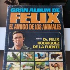 Coleccionismo Álbum: ALBUM DE CROMOS FELIX RODRIGEZ DE LA FUENTE EL AMIGO DE LOS ANIMALES BRUGUERA MBE. Lote 177756375