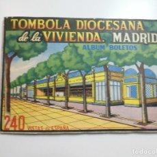 Coleccionismo Álbum: TOMBOLA DIOCESANA DE LA VIVIENDA MADRID ALBUM BLETOS COMPLETO 240 VISTAS DE ESPAÑA. Lote 177841839