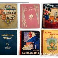 Coleccionismo Álbum: 6 ALBUM COMPLETOS. NESTLE, POTAX, SALSAFRAN, GALLINA BLANCA. VER MUCHAS FOTOS. Lote 57181406