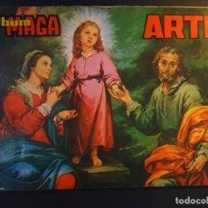 Coleccionismo Álbum: ALBUM DE CROMOS COMPLETO MAGA, ARTE, VER FOTOS. Lote 178210627