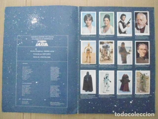 Coleccionismo Álbum: STAR WARS 1977 ALBUM CASI VACIO + ALBUM PARA COMPLETAR - LEER DESCRIPCION - Foto 2 - 178265065