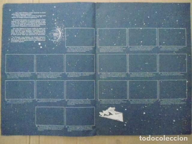 Coleccionismo Álbum: STAR WARS 1977 ALBUM CASI VACIO + ALBUM PARA COMPLETAR - LEER DESCRIPCION - Foto 3 - 178265065