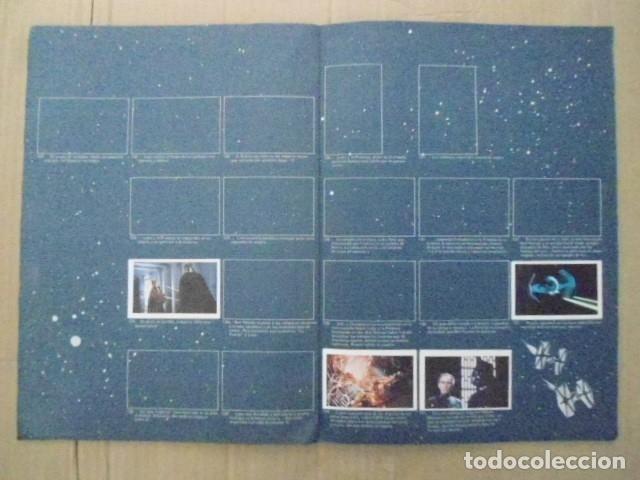 Coleccionismo Álbum: STAR WARS 1977 ALBUM CASI VACIO + ALBUM PARA COMPLETAR - LEER DESCRIPCION - Foto 9 - 178265065