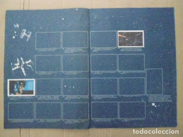 Coleccionismo Álbum: STAR WARS 1977 ALBUM CASI VACIO + ALBUM PARA COMPLETAR - LEER DESCRIPCION - Foto 11 - 178265065