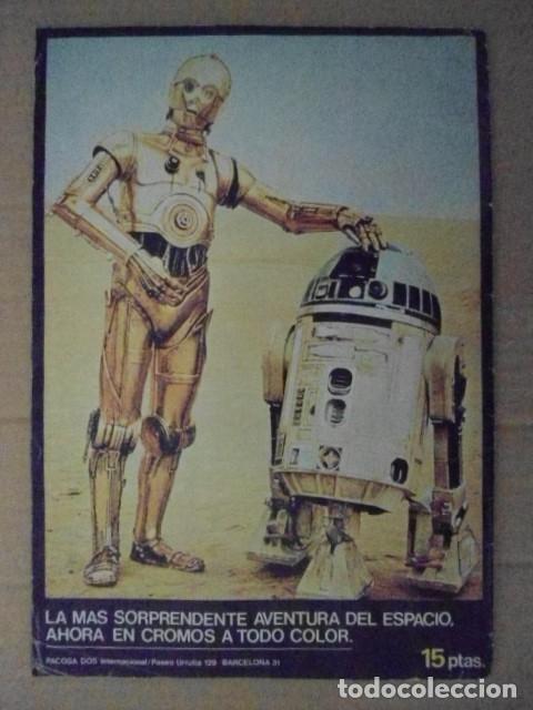 Coleccionismo Álbum: STAR WARS 1977 ALBUM CASI VACIO + ALBUM PARA COMPLETAR - LEER DESCRIPCION - Foto 13 - 178265065