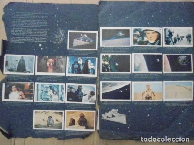 Coleccionismo Álbum: STAR WARS 1977 ALBUM CASI VACIO + ALBUM PARA COMPLETAR - LEER DESCRIPCION - Foto 14 - 178265065