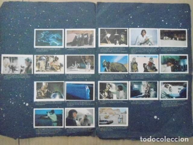Coleccionismo Álbum: STAR WARS 1977 ALBUM CASI VACIO + ALBUM PARA COMPLETAR - LEER DESCRIPCION - Foto 15 - 178265065