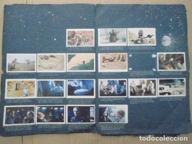 Coleccionismo Álbum: STAR WARS 1977 ALBUM CASI VACIO + ALBUM PARA COMPLETAR - LEER DESCRIPCION - Foto 16 - 178265065