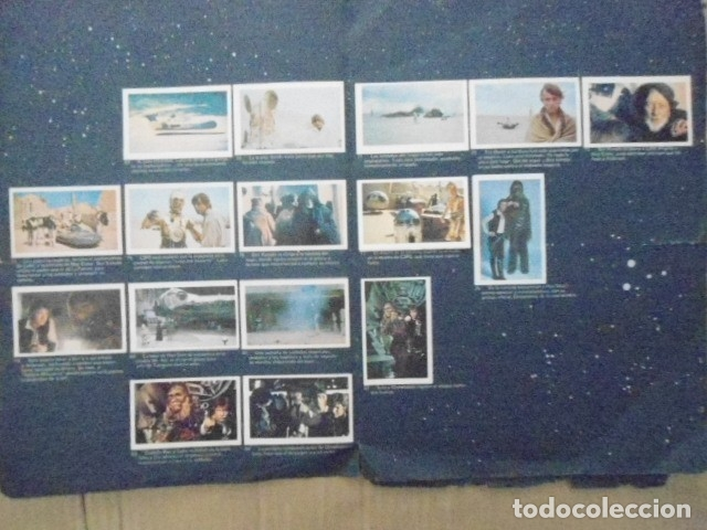 Coleccionismo Álbum: STAR WARS 1977 ALBUM CASI VACIO + ALBUM PARA COMPLETAR - LEER DESCRIPCION - Foto 17 - 178265065