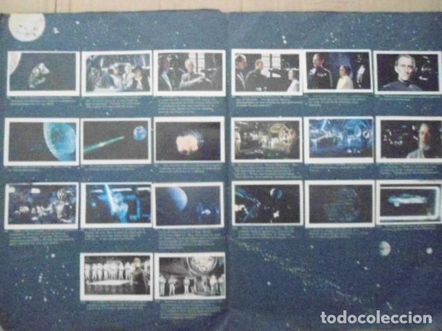 Coleccionismo Álbum: STAR WARS 1977 ALBUM CASI VACIO + ALBUM PARA COMPLETAR - LEER DESCRIPCION - Foto 18 - 178265065