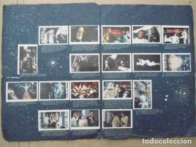 Coleccionismo Álbum: STAR WARS 1977 ALBUM CASI VACIO + ALBUM PARA COMPLETAR - LEER DESCRIPCION - Foto 19 - 178265065