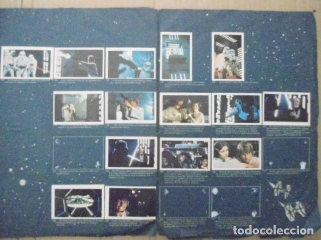 Coleccionismo Álbum: STAR WARS 1977 ALBUM CASI VACIO + ALBUM PARA COMPLETAR - LEER DESCRIPCION - Foto 20 - 178265065