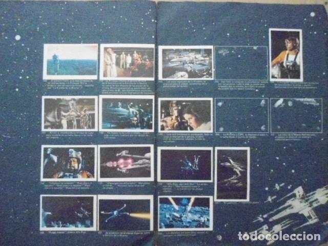 Coleccionismo Álbum: STAR WARS 1977 ALBUM CASI VACIO + ALBUM PARA COMPLETAR - LEER DESCRIPCION - Foto 21 - 178265065