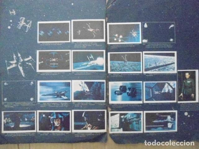 Coleccionismo Álbum: STAR WARS 1977 ALBUM CASI VACIO + ALBUM PARA COMPLETAR - LEER DESCRIPCION - Foto 22 - 178265065