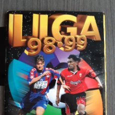 Coleccionismo Álbum: ALBUM LIGA 98-99 CON 473 CROMOS (139 DOBLES). Lote 178270096