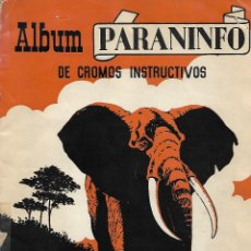 Collectionnisme Album: ALBUM PARANINFO - COMPLETO. Lote 178389345