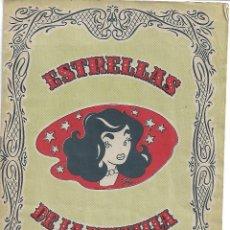 Coleccionismo Álbum: ESTRELLAS DE LA PANTALLA - COMPLETO. Lote 178389565