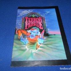 Coleccionismo Álbum: ALBUM TERROR PARADE (J. MARCHANTE, 1991) EDITOR DE LA PANDILLA BASURA SIMILAR MONSTRUOS - COMPLETO. Lote 178560893