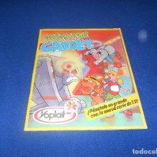 Coleccionismo Álbum: INSPECTOR GADGET YOPLAIT - 1984 ALBUM COMPLETO 90 CROMOS Y DEMAS. Lote 178569033